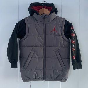 Air Jordan Kids Vest/Sweater Jacket